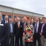 Robert Pinkus and Guests at Launch - Enterprise Court, Blackpool