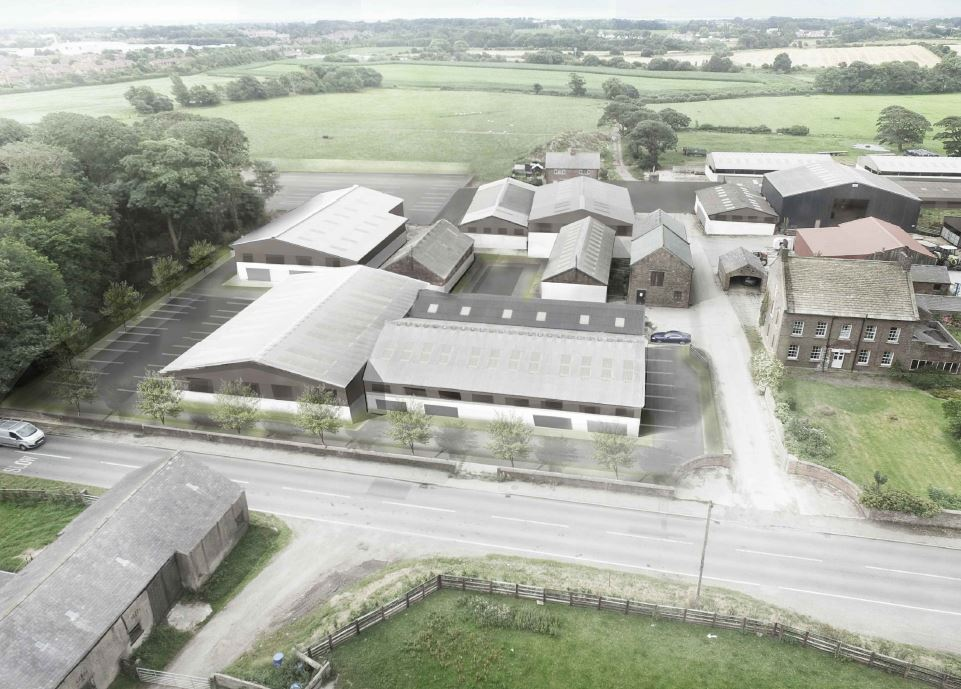 New Build Light Industrial Wesham To Let With Robert